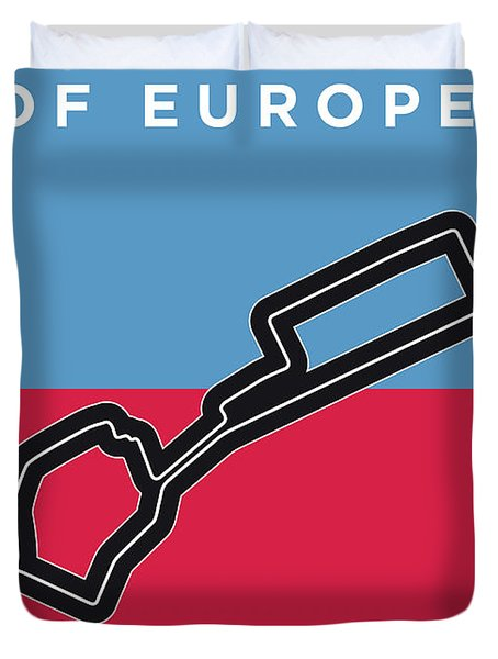 My 2017 Grand Prix Of Europe Minimal Poster Duvet Cover
