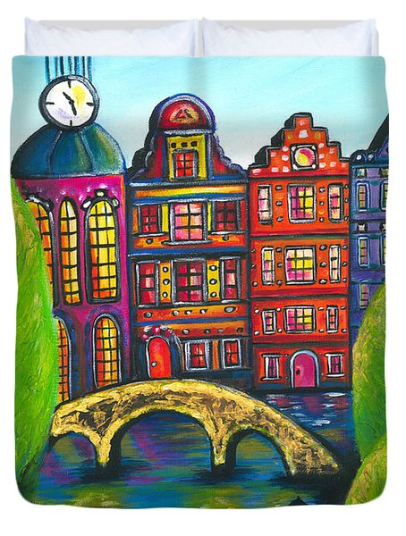 My Amsterdam Duvet Cover by Beryllium Canvas