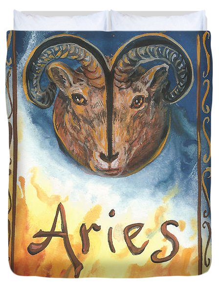 My Aries Duvet Cover