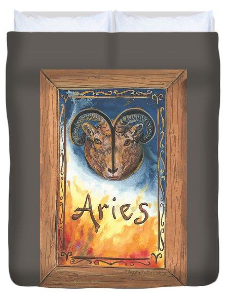 My Aries Duvet Cover