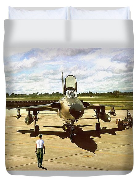 My Baby F-105 Duvet Cover