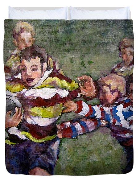 My Ball Duvet Cover by Barbara O'Toole