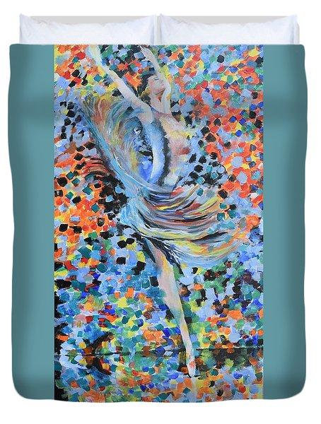 My Ballerina Duvet Cover