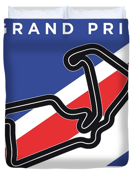 My British Grand Prix Minimal Poster Duvet Cover