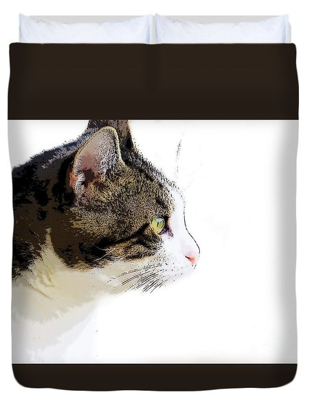 My Cat Duvet Cover by Craig Walters