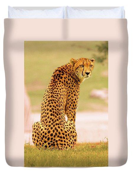 My Cheetah Duvet Cover