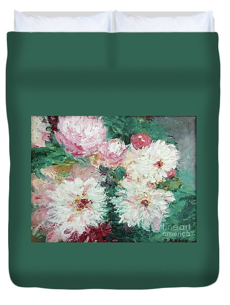 My Chrysanthemums Duvet Cover