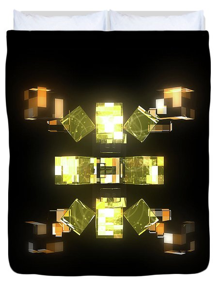 My Cubed Mind - Frame 085 Duvet Cover