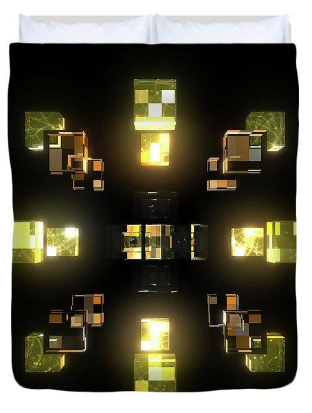 My Cubed Mind - Frame 100 Duvet Cover