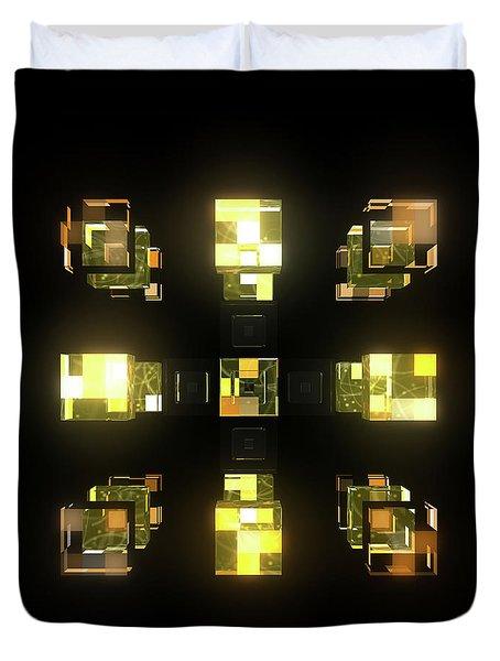 My Cubed Mind - Frame 141 Duvet Cover
