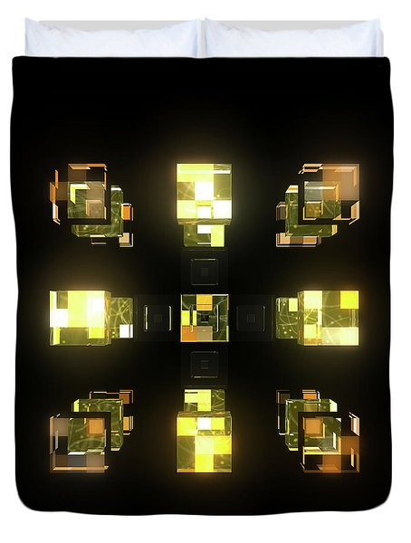 My Cubed Mind - Frame 141 Duvet Cover