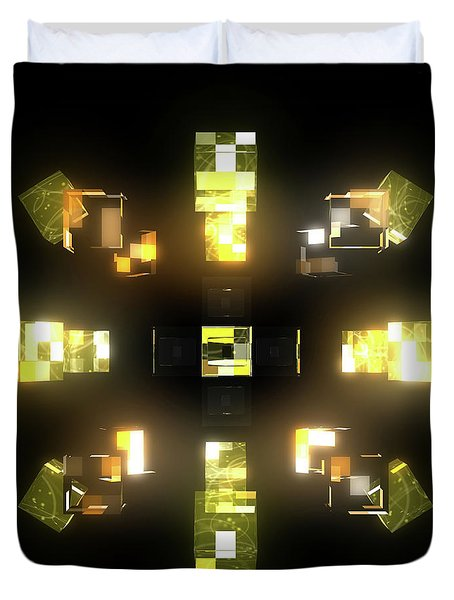 My Cubed Mind - Frame 172 Duvet Cover