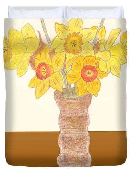 My Daffodils Duvet Cover