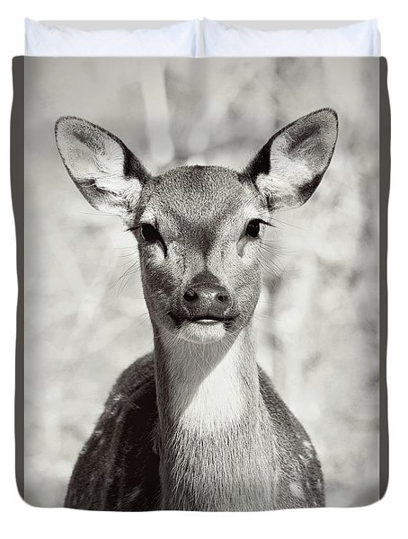 Duvet Cover featuring the photograph My Dear by Jessica Brawley