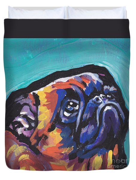 My Eyes Adore You Duvet Cover by Lea S