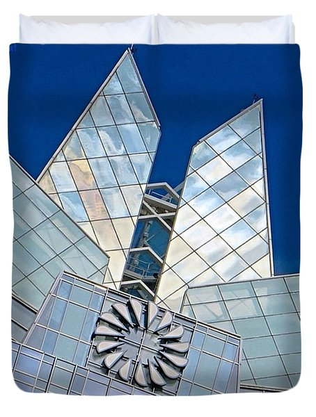 My Favorite #building In #myhometown Duvet Cover