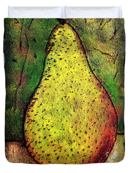 My Favorite Pear One Duvet Cover