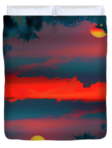 My First Sunset- Duvet Cover