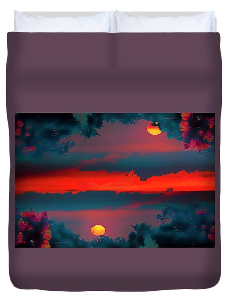 My First Sunset- Duvet Cover