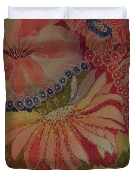 My Flower Garden Duvet Cover