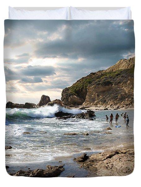 My Friend The Ocean Duvet Cover