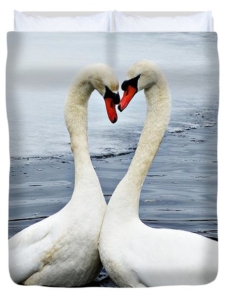 My Funny Valentine Duvet Cover by Joe Faherty