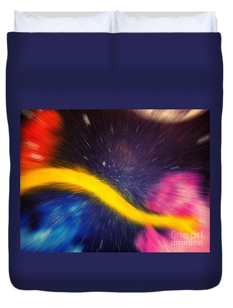 My Galaxy Too Duvet Cover
