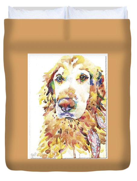 My Golden Retriever Duvet Cover