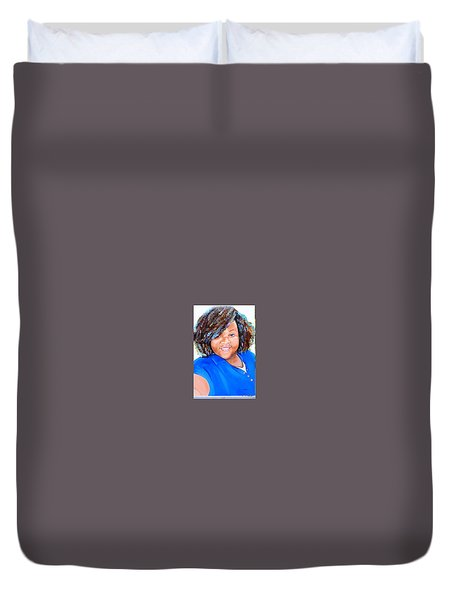 My Goodness  Selfie Duvet Cover