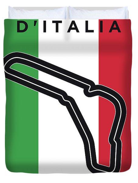My Gran Premio D Italia Minimal Poster Duvet Cover