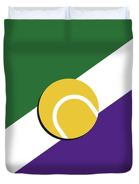 My Grand Slam 03 Wimbeldon Open 2017 Minimal Poster Duvet Cover