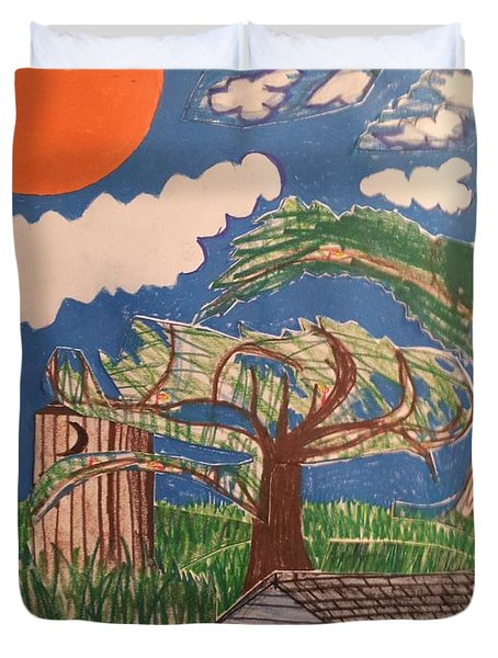My Great Great Grandmother's House Duvet Cover