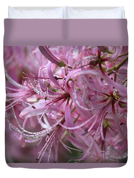 My Heart Is Pink Duvet Cover