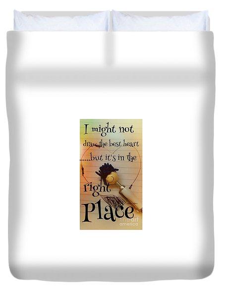 My Heart Duvet Cover