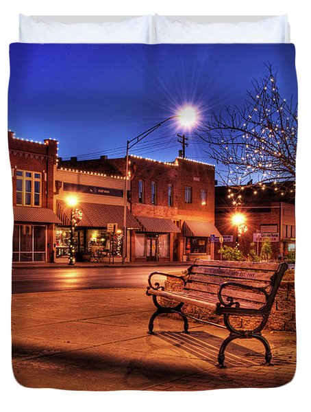 My Hometown Duvet Cover by Tamyra Ayles