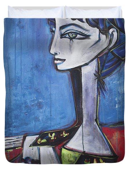 My Jacqueline Duvet Cover