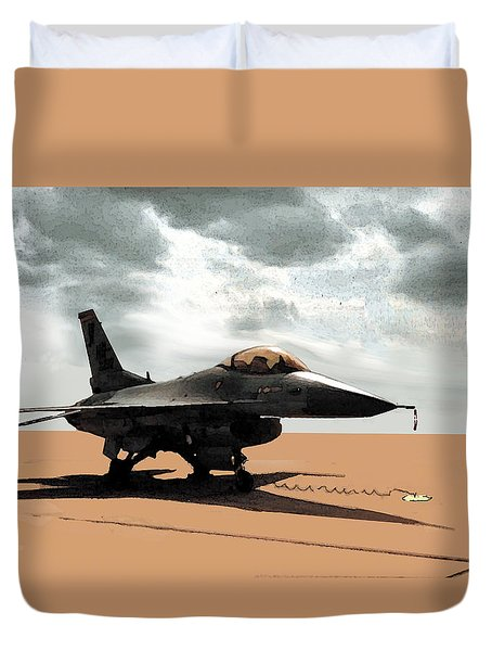 My Jet Duvet Cover