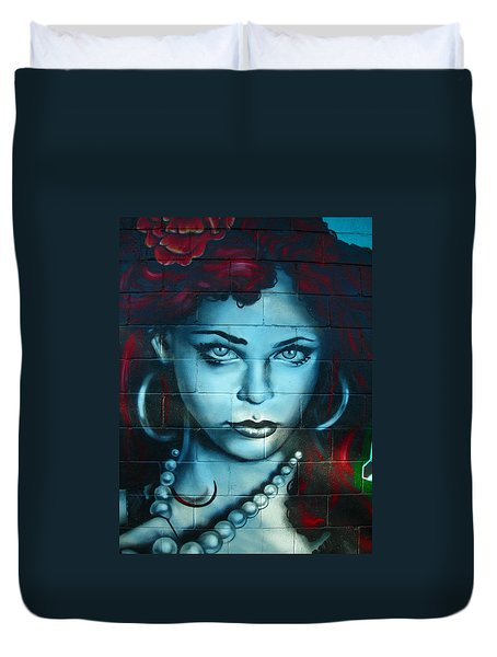 My Lady ... Duvet Cover by Juergen Weiss