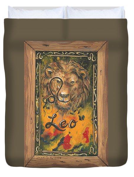 My Leo  Duvet Cover