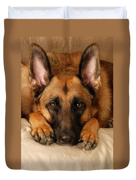 My Loyal Friend Duvet Cover