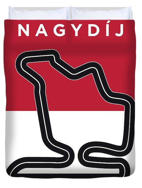 My Magyar Nagydij Minimal Poster Duvet Cover