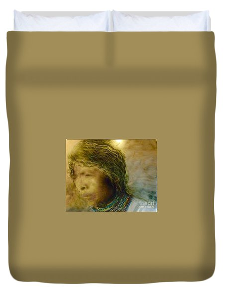 My Memory Walks Before Me Duvet Cover