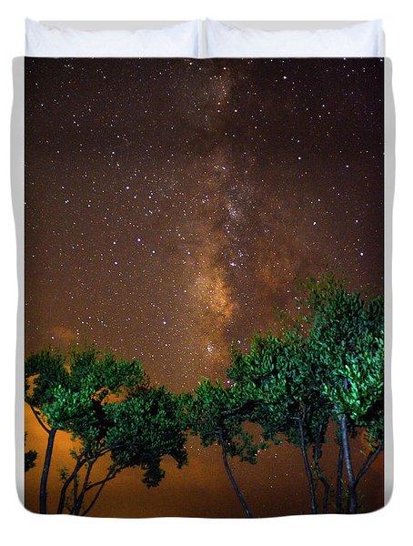 My Milky Way Duvet Cover by Quinn Sedam