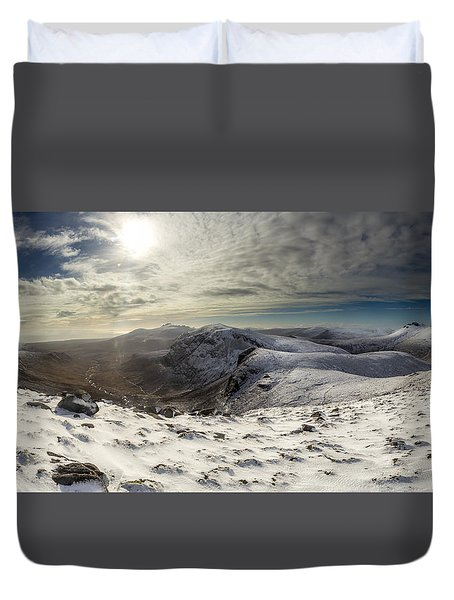 My Mountain Kitchen Duvet Cover