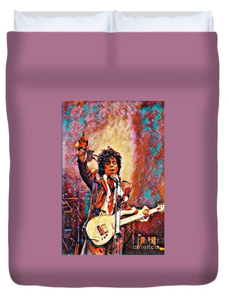 My Name Is    -  Prince Duvet Cover