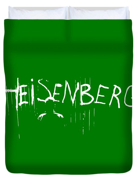 My Name Is Heisenberg - Graffiti Spray Paint Breaking Bad - Walter White - Breaking Bad - Amc Duvet Cover
