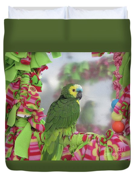 My Name Is Maurice Duvet Cover by Victoria Harrington