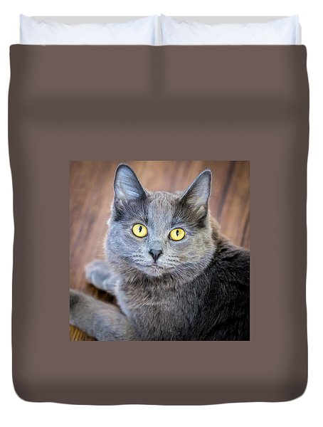 My Name Is Smokey Duvet Cover