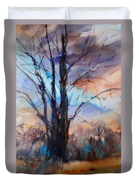 My Oak Tree Duvet Cover by Sandra Strohschein