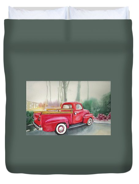 My Old Chevy Duvet Cover